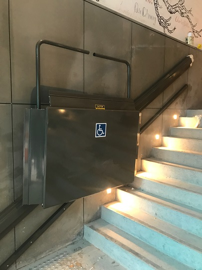 Xpress II Inclined Wheelchair Lift